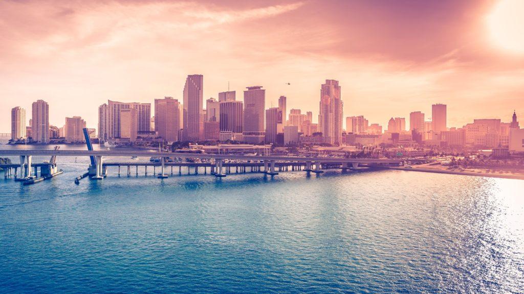 miami downtown florida cityscape 5k