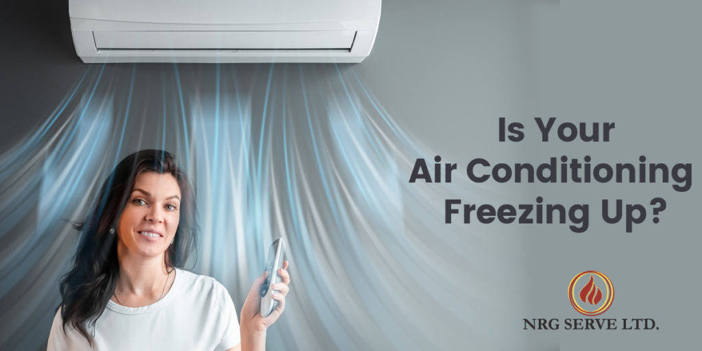 NRG Air Conditioning Freezing Up