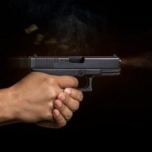 Handgun traning