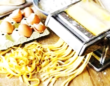 How to make Italian homemade pasta without Eggs