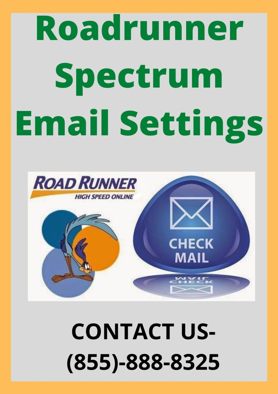 Roadrunner spectrum email settings 1