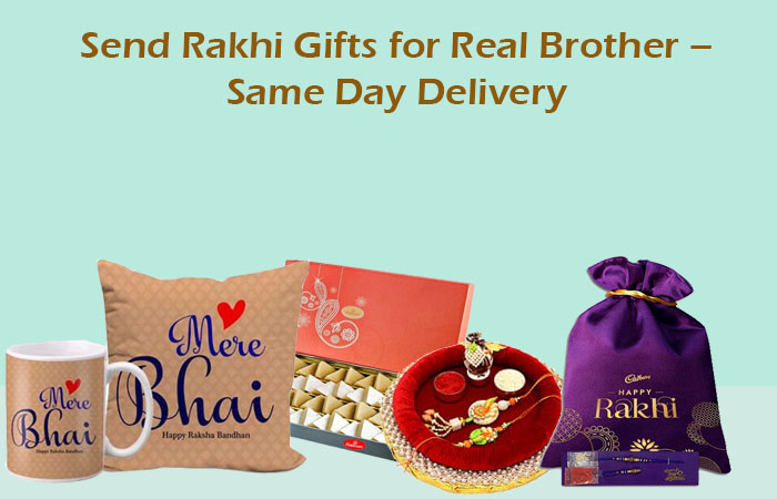 Send Rakhi Gifts for Real Brother – Same Day Delivery
