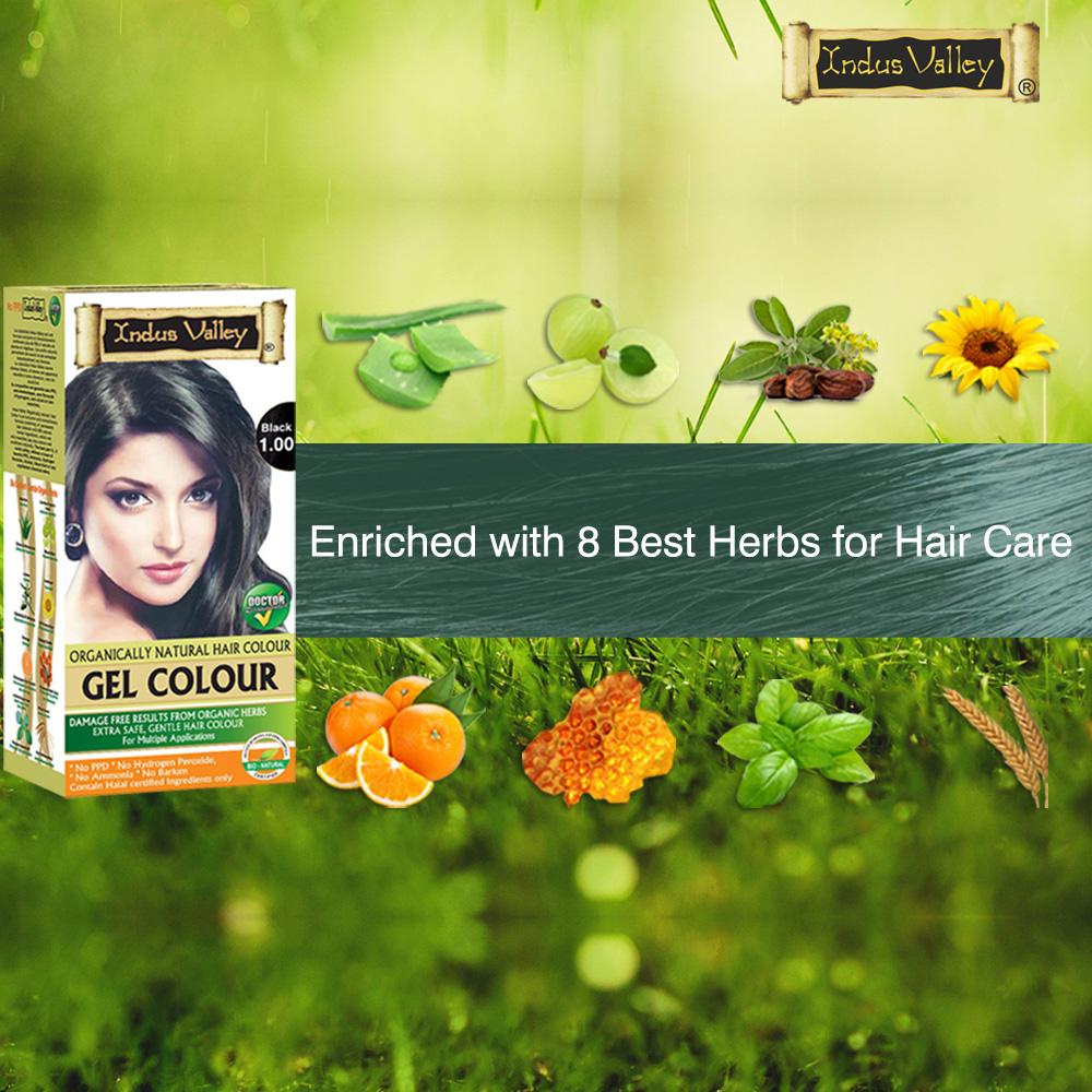 hair color gel