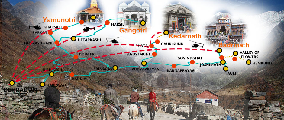 how to reach char dham
