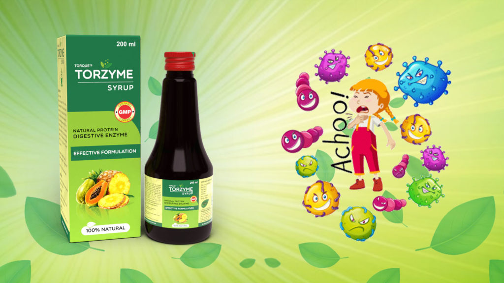 digestive enzyme syrup for child