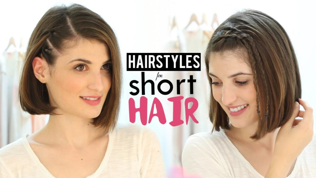 How to style short hair step by step